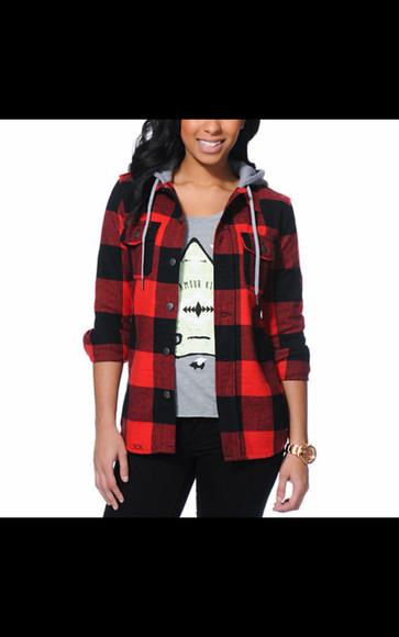 jacket flannel shirt hoodie