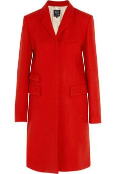Wool-blend felt coat | McQ Alexander McQueen | THE OUTNET