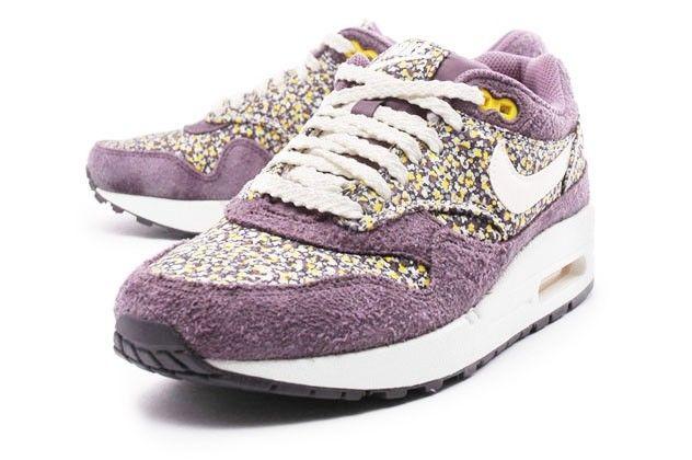 Nike Air Max 1 ND Liberty Womens Shoe All Sizes 528712 501 Plum Purple Sail | eBay