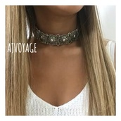 jewels,silver,coin,festival,choker necklace,necklace,summer,music festival,boho choker,jewelry,boho jewelry,metal choker,silver choker,coachella,boho,bohemian,silver necklace,boho chic