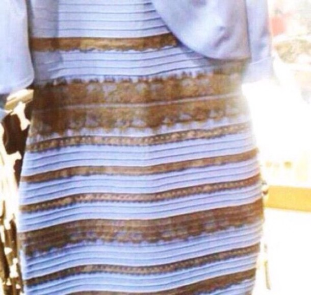 dress black and blue dress white and gold dress