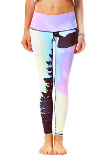Teeki Northern Lights Hot Pant  | evolvefitwear.com