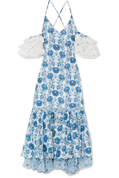 All Things Mochi dress midi dress midi cotton crochet