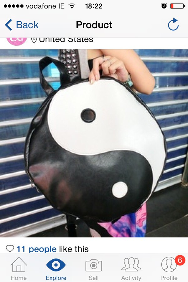 bag yin yang