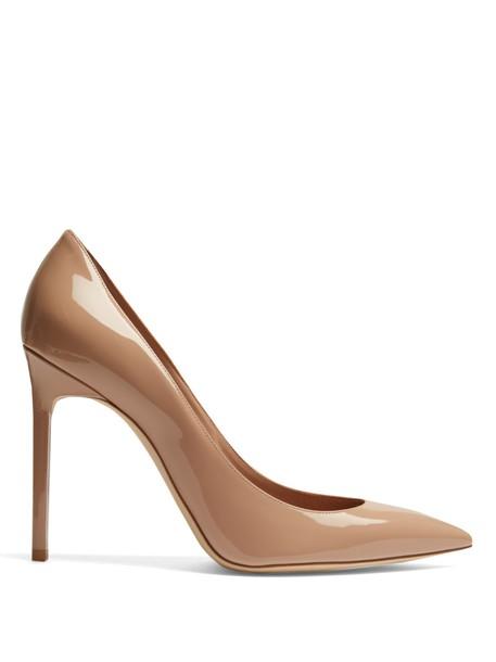 Saint Laurent pumps leather nude shoes