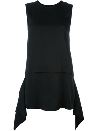 tank top top layered black