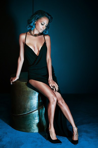 dress nicole richie black
