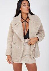 jacket,beige,fleece,maniere de voir