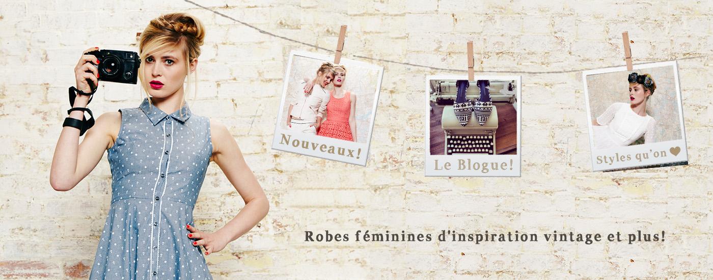 Vintage Inspiré Robes, Indie, Boho, Retro & Mignonnes Vêtements Magasin en Ligne : Boutique Onze : Montréal Québec, Canada