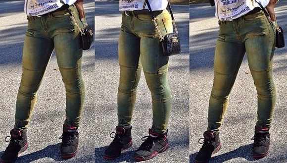 hot jeans green atlanta dirty different dope dope ish dope shit army green pants colored jeans sexy sexy jeans tight