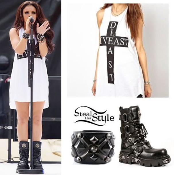 shirt jesy nelson dress