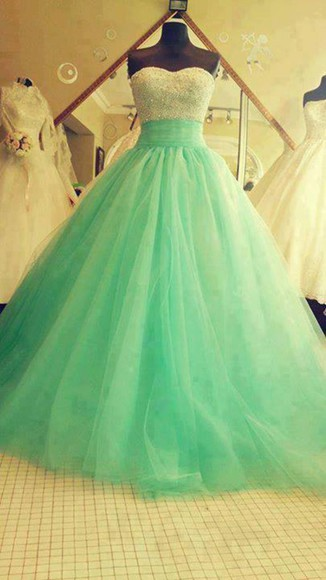 lovely dress girly mint