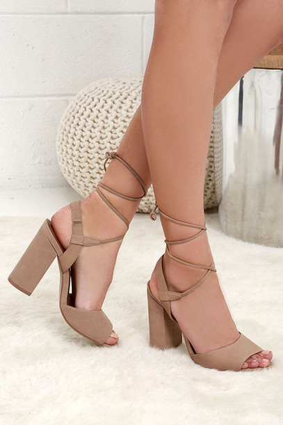 shoes heels boots heel boots nude nude heels nude boots fashion footwear clothes cute pretty strappy heels girl