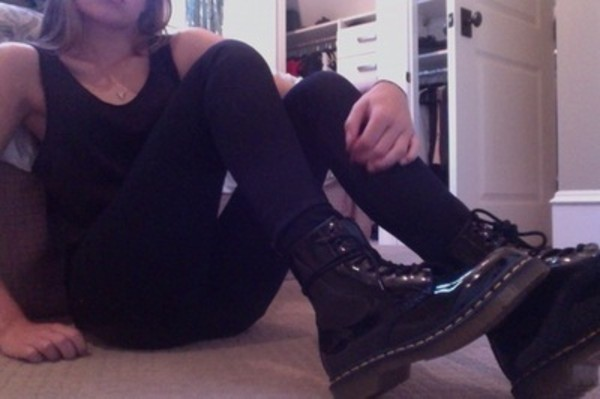 shoes DrMartens black shoes