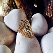 jewels,accessories,bikini luxe,bikini luxe jewelry,gold fashion ring,gold ring,half finger ring,large gold ring,marilyn monroe ring,monroe ring,bikiniluxe
