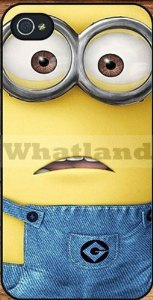 Amazon.com: despicable me minion case for apple iphone 4/4s: cell phones & accessories