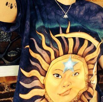 shirt sun grunge t shirt