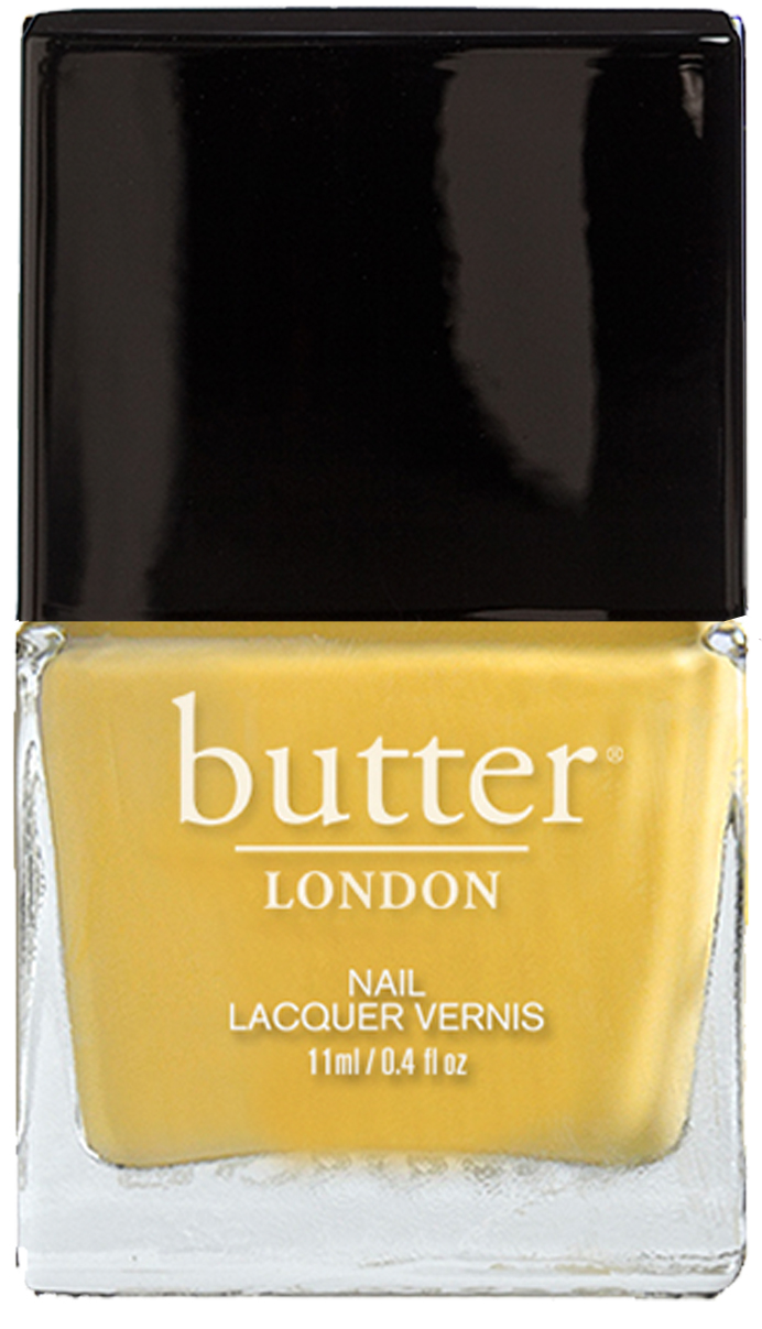 Bright Yellow Nail Polish – Cheeky Chops : butter LONDON