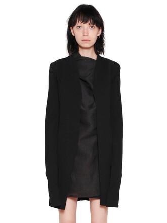 cardigan cotton knit black sweater