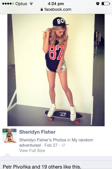 snapback sheridyn fisher