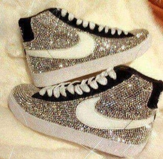 shoes shiny glitter sneakers