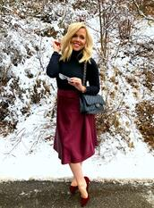 the fashion canvas – a fashion & lifestyle blog,blogger,skirt,sunglasses,shoes,bag,chanel bag,pumps,red skirt