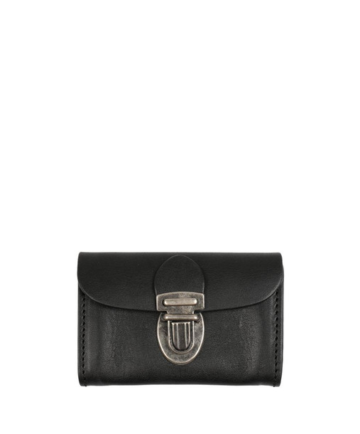 purse leather black black leather bag
