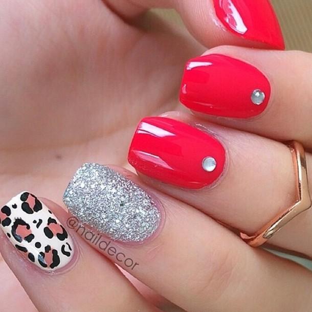 Cute Jordan Girl Nails