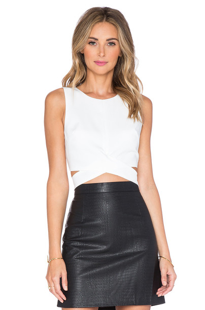 Lovers + Friends x REVOLVE So Into You Crop Top in white