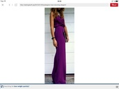 dress,purple,aubergine,long,maxi dress