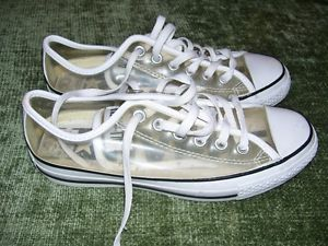 Authentic Converse All Star Clear Ox See Through Shoes Size 6 Women's 8   eBay