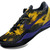 NBA Nike Kobe 8 Elite System (Black & Yellow & Purple) Mens Sports Sneakers