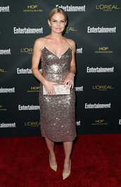 dress,sparkly dress,jennifer morrison,shoes