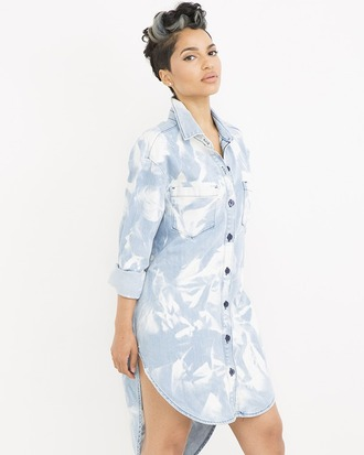 dress shirtdress denim denim shirtdress acid wash acid wash dress