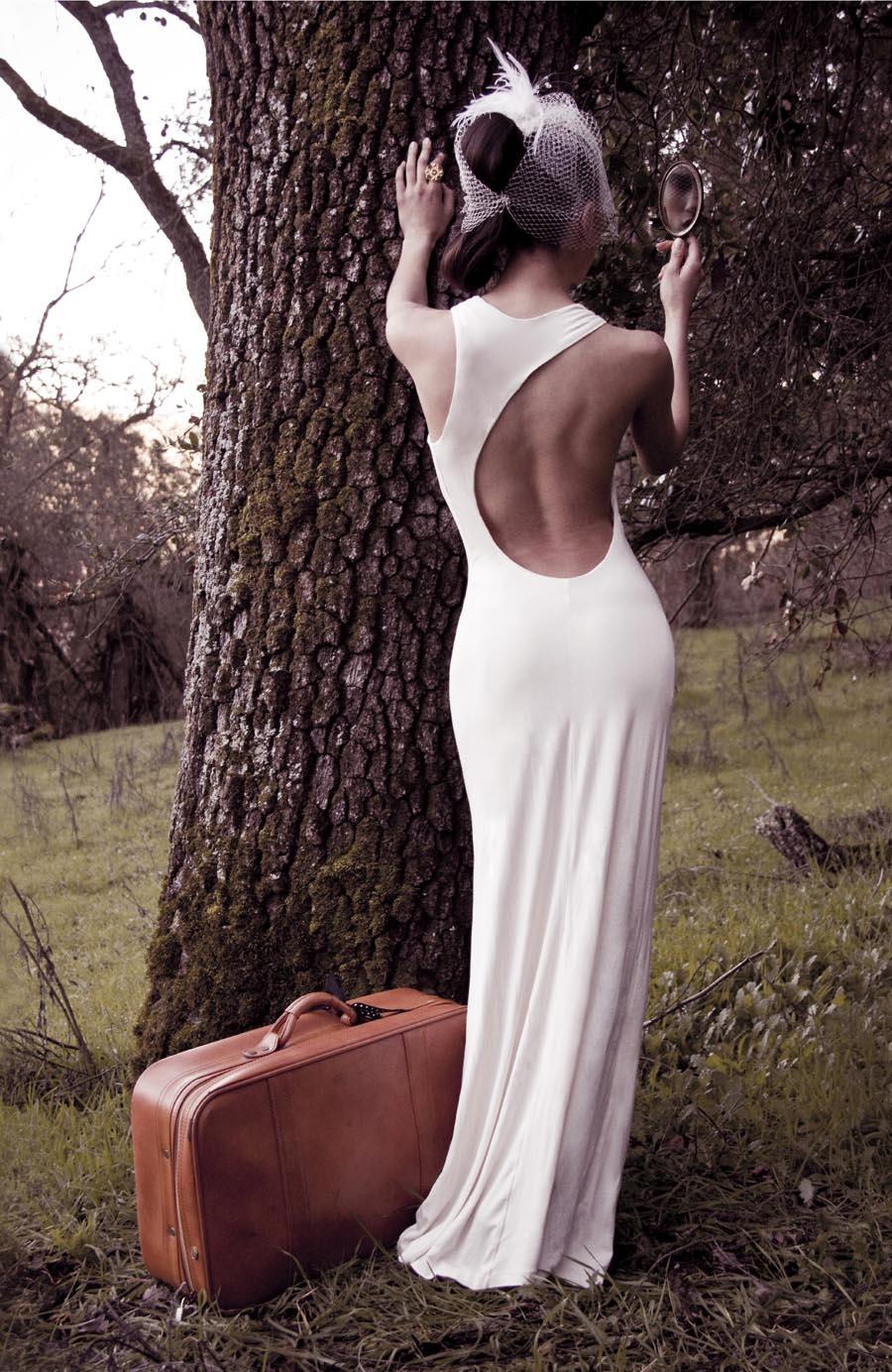 Lauren backless dress