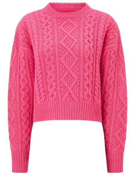 Isabel Marant etoile jumper wool pink