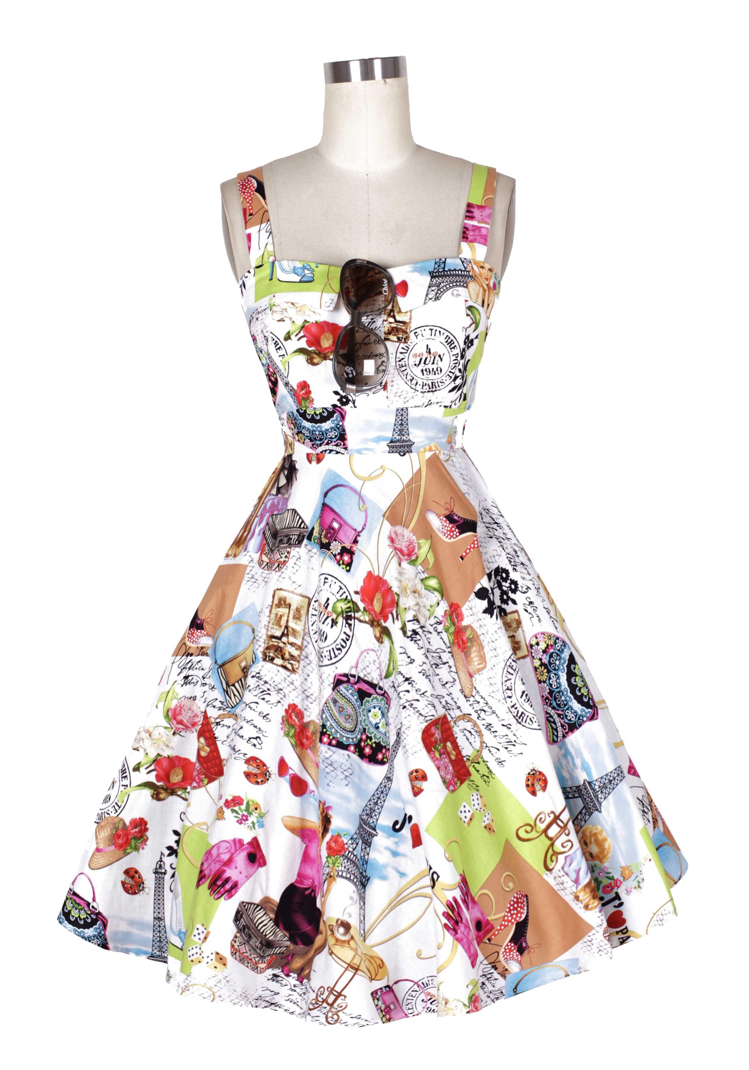 Paris on the loose dress