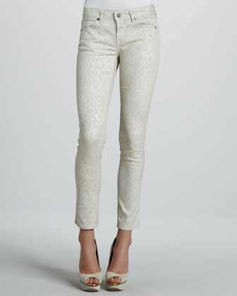 Rich and Skinny Skinny Vital Lace Ankle Peg Jeans - Neiman Marcus