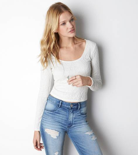 Aeo soft & sexy lace ballet t