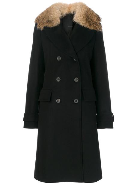 Belstaff coat women black wool