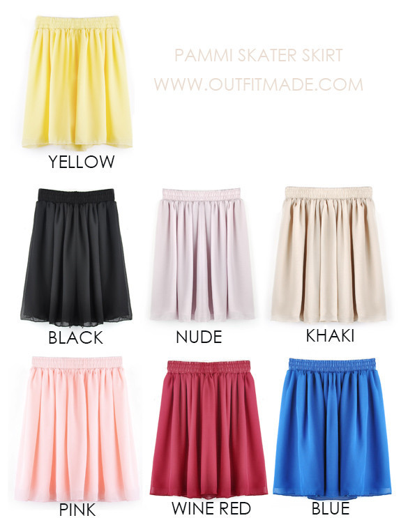 Pammi Skater Skirt | Outfit Made