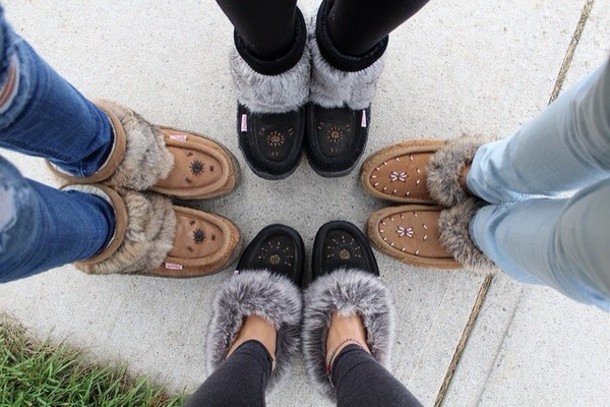 Shoes Winter Boots Slip On Shoes Moccasins Boots
