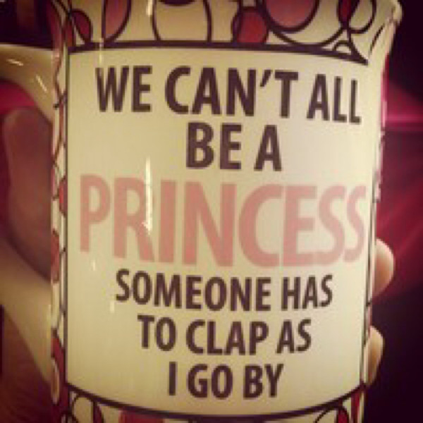 jewels coffee princess mug cup