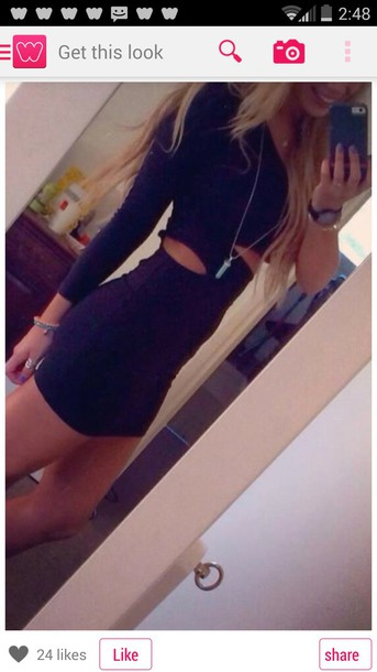 dress cut-out dress cut-out cutout tops bodycon dress bodycon bodycon prom dress homecoming dress homecoming dress