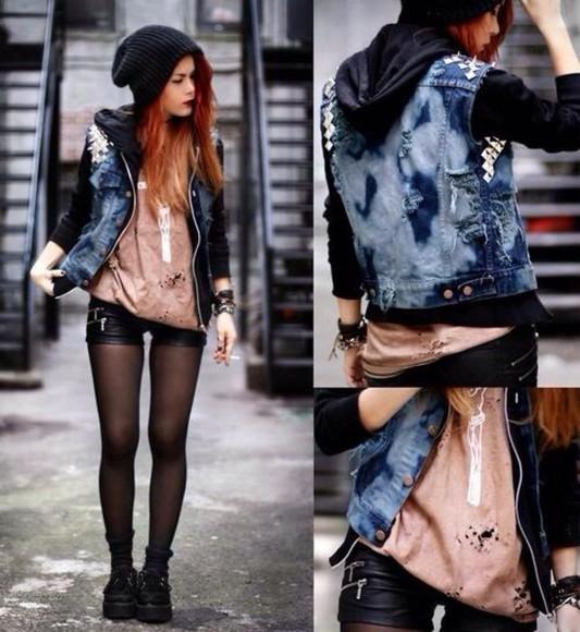 jacket studs denim jacket denim jacket