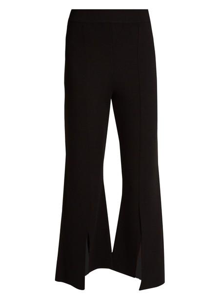 Stella McCartney cropped knit black pants