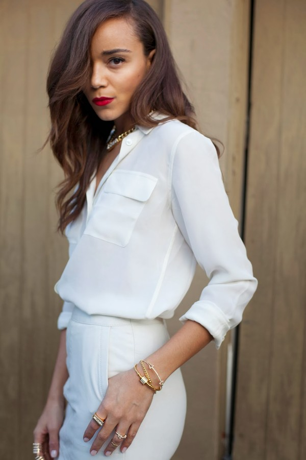 ring my bell skirt shirt jewels blouse white blouse
