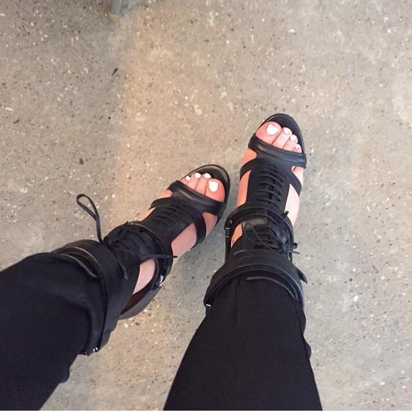 BOSS Black Women's Jodi Leather Heeled Sandals