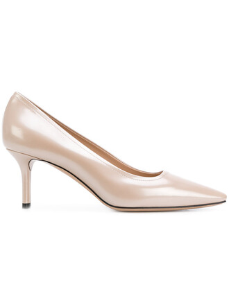 women perfect pumps leather nude shoes