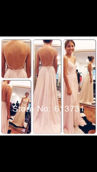 dress nude dress prom dress gown